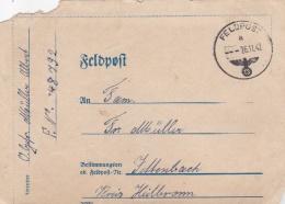 Feldpost WW2: From The Area Around Dijon, France - Radfahr-Schwadron 1065  FP 48792 P/m 26.11.1942 - Letter Inside (G84- - Militaria