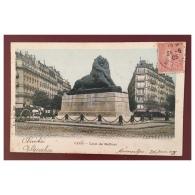 Paris  Lion De Belfort  BF Paris - Statues