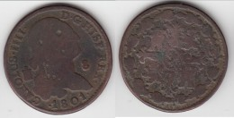 **** ESPAGNE - SPAIN - 8 MARAVEDIS 1801 CAROLUS IIII - CHARLES IV **** EN ACHAT IMMEDIAT !!! - [ 1] …-1931 : Royaume