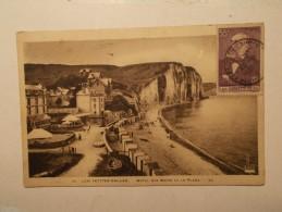 Marcophilie - Lettre Enveloppe Cachet Timbres Oblitération - FRANCE - CPA Les Petites Galles 1938 (134) - Lettres & Documents