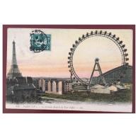 Paris  La Grande Roue Et La Tour Eiffel  849  LL - Distretto: 15