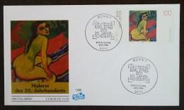 Allemagne - FDC 1996 - YT N°1675 - PEINTURE ALLEMANDE / MAX PECHSTEIN - BONN - [7] République Fédérale