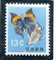 (cl. 34 - P. 10) Ryu-Kyu * N°  62 - Papillon - - Honeybees