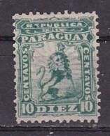 PARAGUAY - N+Y&T -  11 - 10c  Vert   - Lion Heraldique - (N) - Paraguay