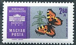 (cl. 34 - P. 11) Hongrie * N°  1442 - Papillon - - Butterflies