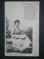 """Ref5129 CPA Jeune Fille Villeneuve Sur Lot """"La Segado"""" - Phot. Fellion 1904 - Flou D'estiou De P. Froument - Autres"""