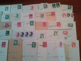Collection D'oblitérations Linéaires De GARE Et D' AMBULANTS - 1961-....