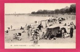 44 LOIRE-ATLANTIQUE ST-NAZAIRE, La Plage, Animée,  (N. D.) - Saint Nazaire