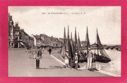 44 LOIRE-ATLANTIQUE LE POULIGUEN, Le Port, Animée, Bateaux De Pêche,  (A. Bruel) - Le Pouliguen