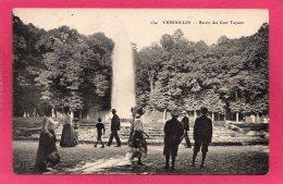 78 YVELINES VERSAILLES, Bassin Des Cents Tuyaux, Animée,  (E. L. D.) - Versailles