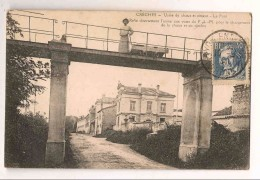 71 Creches Usine De Chaux Et Ciment Le Pont - Andere Gemeenten