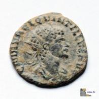 Roma - QUINTILO - Antoniniano - 270 DC. - 5. La Crisis Militar (235 / 284)
