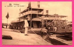 "Kinshasa - Le "" Berwine "" Et Le Roi Albert - Paquebot - Animée - NELS - 1929 - Kinshasa - Léopoldville"