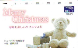 Télécarte Japon NOËL (1991) * MERRY CHRISTMAS * Phonecard TK WEIHNACHTEN JAPAN KERST NAVIDAD * NATALE - Weihnachten