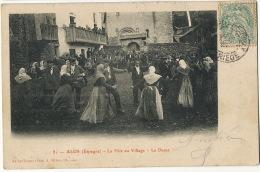 81 Alos La Fete Au Village . La Danse Edicion A. Rives Saint Girons - Lérida