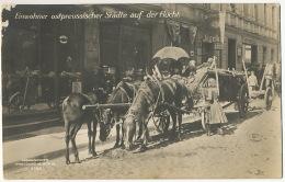 German Revolution Einwohner Ostpreussischer Stadte Auf Der Flucht Edit Photochemie - Deutschland