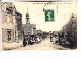 MORBIHAN -ST RAOUL - Commune De Guer - Vue Générale Animée - Andere Gemeenten