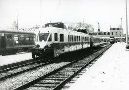 Autorail Standard X 23000 En Gare De Le Tréport-Mers. Photo Jacques Bazin. 4 Juillet 1959 - Trains