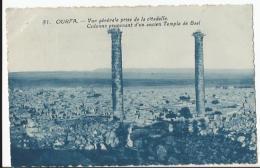 CPA - Arménie - Ourfa - Vue Générale Prise De La Citadelle - Colonne Provenant D'un Ancien Temple De Baal - Arménie