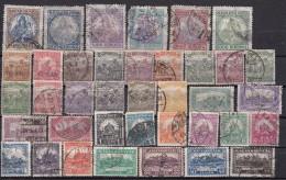 Hongrie  Lot De 38 Timbres Avant 1925 - Hongrie