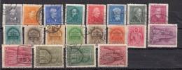 Hongrie Sèrie Courante 1932 - 1939   20 Valeurs - Hongrie