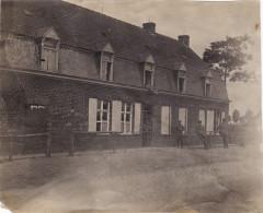 Photo 1915 Secteur LANGEMARK-POELKAPELLE - Quartier Allemand, Fussartillerie (A139, Ww1) - Langemark-Poelkapelle