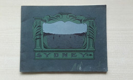 AUSTRALIE - SIDNEY - Très Beau Fascicule Comprenant 31 Pages Et Plus De 25 Photos - SYDNEY BY THE SEA ILLUSTRATED - 1901-1940