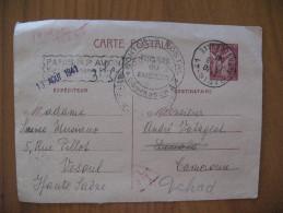 Carte Postée Le 12 Août 1941 De PARIS à DOUALA - Biglietto Postale