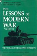 The Lessons Of Modern War: Volume Iii: The Afghan And Falklands Conflicts (Lessons Of Modern War Vol. III) By Cordesman, - Boeken, Tijdschriften, Stripverhalen