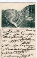AK Italien I  Stradale Belio Spluga E Cascata Di Pianazzo 1901  Gel. - Non Classés