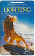 New Zealand - Mufasa The Lion King - Dealer Cards 1994, 9.500ex, Used - Nueva Zelanda