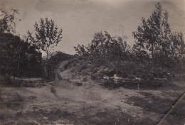 Photo 1915 Secteur LANGEMARK-POELKAPELLE - Position Allemande, Fussartillerie (A139, Ww1) - Langemark-Poelkapelle