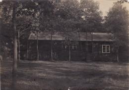 Photo 1915 Secteur LANGEMARK-POELKAPELLE - Une Baraque Allemande (A139, Ww1) - Langemark-Poelkapelle