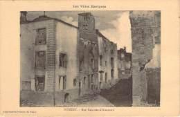 54 - Nomeny - Rue Fourrier-d'Hincourt, Les Villes Martyres - Nomeny