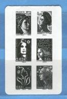 FRANCIA - Republique Au Fil De Timbre -  2 - Libretti