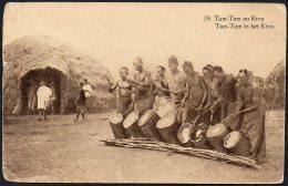 Congo - Stibbe 67 Vue 19 - Tam Tam Au Kivu - Stanleyville Paris France - 1928 - PA - Interi Postali