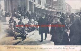 1914 Vluchtelingen Uit De Omgeving Voor Lyrisch Toneel - Antwerpen