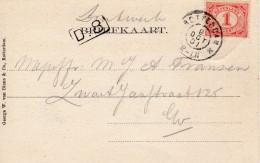 1901 Mooie Ansicht Lokaal Verzonden In Rotterdam - Periode 1891-1948 (Wilhelmina)
