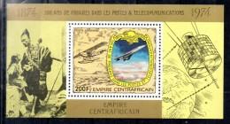 CENTRAFRIQUE BF De Luxe   PA 188  * *    Upu  Poste  Satellite Telecommunication Avions Concorde - Concorde
