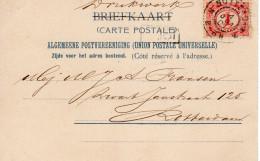 1901 Ansicht Lokaal Verzonden Te Rotterdam Diergaarde - Periode 1891-1948 (Wilhelmina)