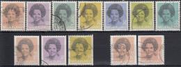 Holanda 1982 Nº 1181/87 + 1181a/84a + 1181b + 1181c 12Valores Usado - Periodo 1980 - ... (Beatrix)