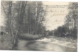 19 CORREZE - BRIVE La Digue De La Bouvie Et Les Bords De La Corrèze - Brive La Gaillarde