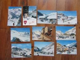 Lot  10 Cartes De Val D'Isère Détachées D'un Carnet - Cartes Postales