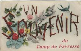 Marne : Camp De Favresse, Souvenir - France