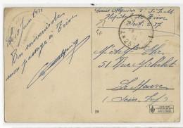 1921 - OCCUPATION FRANCAISE EN ALLEMAGNE - CARTE FM De TREVES (TRIER) HOPITAL Du SP 237 - Marcophilie (Lettres)