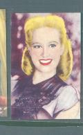 MARILYN MAXWELL -FIGURINA N-238-,ARTISTI DEL CINEMA..CASA EDITRICE ASTRA.1951 - Cinema & TV