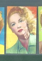 LILIANE BEST  -FIGURINA N-278-,ARTISTI DEL CINEMA..CASA EDITRICE ASTRA.1951 - Cinema & TV