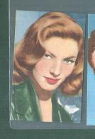 LAUREN BACALL -FIGURINA N-231-,ARTISTI DEL CINEMA..CASA EDITRICE ASTRA.1951 - Cinéma & TV