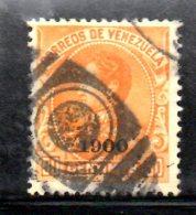 Y1888 - VENEZUELA 1900 , Yvert Usato N. 75 - Venezuela