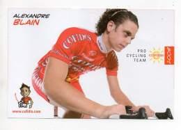 Cyclisme - Cofidis 2008 - Alexandre Blain - Cyclisme